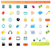 Web Icons royalty free illustration
