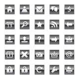 Web icons Stock Photo