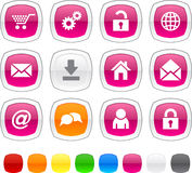 Web icons. Royalty Free Stock Photography
