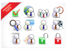 Web Icons 17 R-series Royalty Free Stock Image