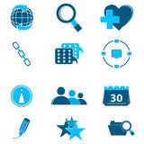 Web icons Royalty Free Stock Photos