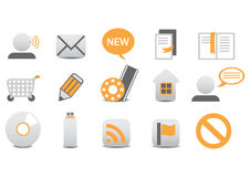Web icons. Vector illustration of different Professional icons. You can use it for your website, application, or presentation Stock Image