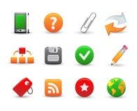 Web icons. Set of 12 web icons Vector Illustration