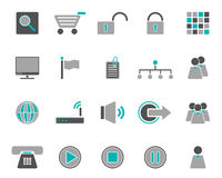 Web icons Royalty Free Stock Photo