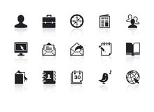Web Icons 2. A set of 15 web icons royalty free illustration