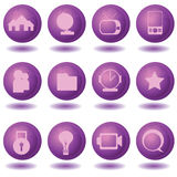 Web icons 2. Web icons for web graphics, buttons and others Stock Photos
