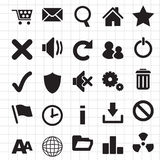 Web Icons. Infographics Photograph - Set of Web Icons Royalty Free Stock Photos