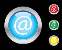 Web icons. Web glass button icons. Please check out my icons gallery Stock Photos