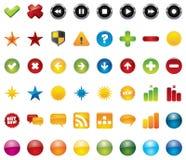 Web icons. 48 vector illustrations. Element for design vector illustration