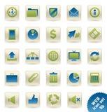 Web_icons_5b Royalty-vrije Stock Afbeeldingen