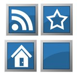 Web icons Stock Images