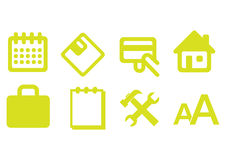 Web icons -  Stock Images