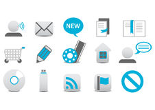 Web icons Stock Photos