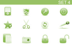 Web icons Royalty Free Stock Photos