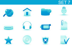 Web icons Royalty Free Stock Photography