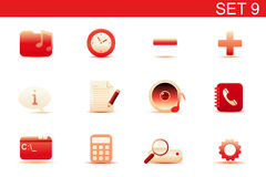 Web icons Stock Photography