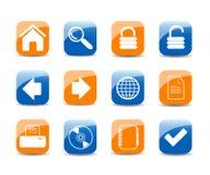 Web icons Stock Image