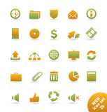 Web_icons Royalty Free Stock Photo