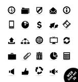 Web_icons Royalty Free Stock Photography