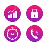 Web icons advatage set. Royalty Free Stock Photo