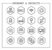 Web Icons  Basics Royalty Free Stock Images