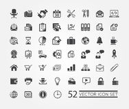 Web icons for business, finance and communication Royalty Free Stock Images