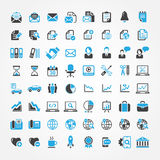 Web icons for business, finance and communication Royalty Free Stock Photography