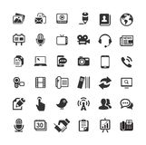 Web icons for business, finance and communication Stock Images