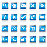 Web icons, buttons Stock Images