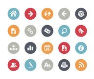 Web Icons // Classics Series. Vector icons set for your web or presentation projects Royalty Free Stock Photography