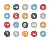 Web Icons // Classics. Vector icons set for your web or presentation projects Stock Images