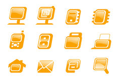 Web icons collection. Stock Photo