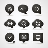 Web icons collection Stock Image