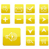 Web icons collection Stock Photos