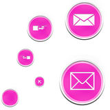 Web icons collection royalty free stock images