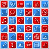 Web icons collection Stock Images