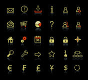 Web icons collections Royalty Free Stock Photo