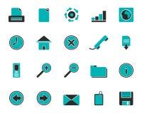 Web icons Royalty Free Stock Image