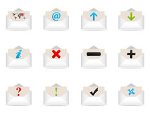 Web icons envelope Royalty Free Stock Images