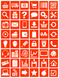 Web icons for eshop, flat design Stock Image