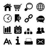 Web Icons Stock Photography