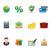 Web Icons - Finance 2 Royalty Free Stock Images