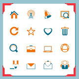 WEb icons | In a frame series Stock Images