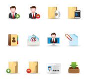 Web Icons - Group collaboration 2 Stock Photos