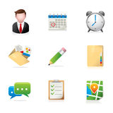 Web Icons - Group Collaboration Stock Photography