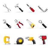 Web Icons - Hand Tools Stock Images
