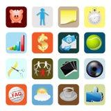 Web Icons Internet Stock Image
