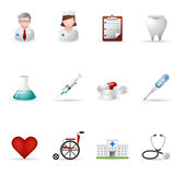 Web Icons - Medical Stock Photo