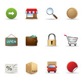 Web Icons - More Ecommerce Royalty Free Stock Photo