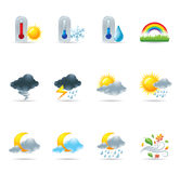 Web Icons - More Weather Stock Photo